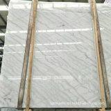 Het opgepoetste Witte Marmer van China voor Plakken en Bevloering