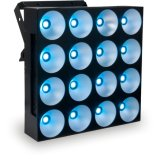 Matrix 4X4 Luz de Fundo Blinder 16X10W RGBW 4NO1 LED SABUGO (Pixel)