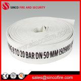1-10 mangueira de incêndio da lona do forro do PVC da polegada