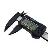 Étrier en plastique de mesure de Digitals d'écran LCD de fibre de carbone d'outils