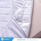 Fabricado con fibra de bambú ecológica rayón protector de colchón de cuna impermeable hipoalergénico