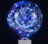 [ديمّبل] خارجيّ خيط مصباح مصغّرة [سترّي] [لد] كرة أرضيّة خيط ضوء