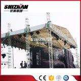 Sistema de aluminio para la venta, braguero al aire libre del braguero de la etapa del aluminio del concierto