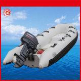 Ce China pequeña embarcación de costilla 5,5m pequeño barco pesquero para los niños de la nervadura de remo botes inflables
