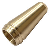 A tubulação de precisão cobre fundido parte de usinagem CNC