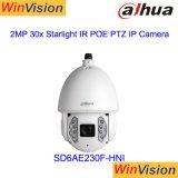 Dahua 200m IR расстояние сумеречного света звезд PTZ IP-камера SD6AE230f-Hni