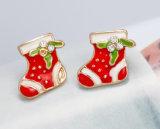 크리스마스 휴일 판 귀걸이 각종 유형 귀여운 귀 장식 못 귀 반지