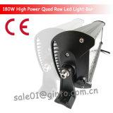 barra ligera combinada de 180W LED para el coche ATV SUV de la luz de conducción