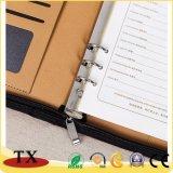Верхний класс PU кожаный чехол для ноутбука с Zip и ежедневном использовании дневник