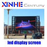 SMD P8 elektronische im Freienbekanntmachen farbenreiche wasserdichte LED-Bildschirmanzeige