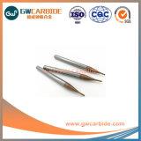 L'extrémité en carbure de tungstène Micro-Diameter Mills