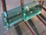 8mm10mm 12mm de cristal templado sin cerco de barandilla de escalera