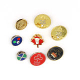 De Vitrine van medailles En het SovjetKenteken van de Speld