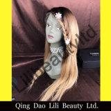 Lilibeauty 머리 130% 조밀도 사람의 모발 흑인 여성을%s 가득 차있는 레이스 1b/4/27 색깔 브라질 가발