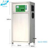 下水の水処理によっては100g/Hr酸素のコンセントレイタオゾン発電機が殺菌する