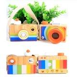 Hölzernes Kamera-Spielzeug-scherzt multi Prisma-Kind-Arbeitsweg-Kamera pädagogisches Spielwaren-Geschenk