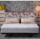 La tela moderna de la sala de estar del estilo plegable saca la base de sofá