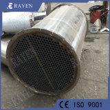 Acero inoxidable Sistema de calefacción intercambiador de calor tubulares