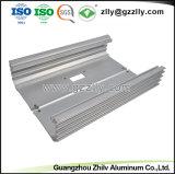 6063 de alta calidad personalizado con el perfil de extrusión de aluminio anodizado y mecanizado CNC
