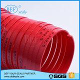 Tira Phenolic vermelha do guia 12.5*2.5 na tira da forma das bobinas