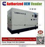 gerador Diesel silencioso de 20kw/25kVA 50Hz psto por Cummins Engine-20171016