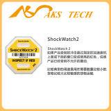 Collant d'avertissement jaune de 25g Shockwatch2 pour l'étiquette de empaquetage de choc