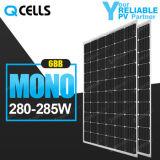 Панель солнечных батарей Q-Клеток Mono 280W 285W с немецкой технологией