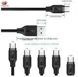 De Kabel van de plotseling-last type-C voor Mi Mobiele Telefoon, Mobiele Telefoon Huawei