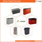 tipo espera batería solar del gel de la batería de 12V 150ah