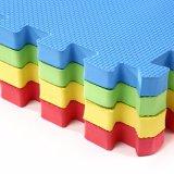 Cour de jeu de couvre-tapis de puzzle de couvre-tapis de mousse de la bonne qualité 12mm EVA