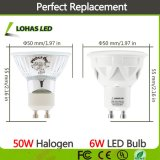 GU10 MR16 3W 5W 6W à LED haute puissance lampe de projecteur au plafond