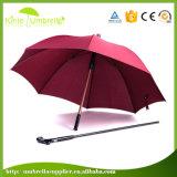 Крышки зонтика зонтиков высокого качества тросточка Monogrammed гуляя вставляет старые люди