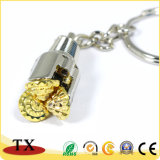 Swivel Piston Metal Faucet Key Chain