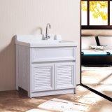 Cabina respetuosa del medio ambiente del lavabo del cuarto de baño de la aleación de aluminio de la pintura libre
