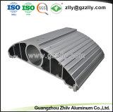 Polvere di alta qualità che spruzza dissipatore di calore di alluminio sporto