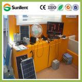 Côté solaire de pouvoir du système solaire 40W de qualité de batterie solaire