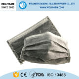 máscara activada no tejida disponible negra del carbón 4-Ply
