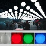 건물 훈장을%s RGB LED 공을 바꾸는 현대 원격 제어 DMX 태양 LED 공 색깔