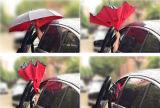 [دووبل لر] يعكس مظلة مع [ك-شبد] مقبض لأنّ سيارة مطر إستعمال خارجيّة