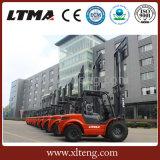 Ltma 3.5 톤 2WD 디젤 엔진 거친 지형 포크리프트