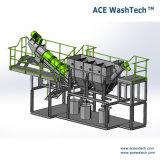 PE Post consumidor/agrícola/gases de efecto cine y equipos de lavado de reciclaje de rafia de polipropileno