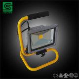 50W Водонепроницаемый светодиодный Прожектор RGB с датчиком