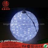 220V висел под руководством большие цветные акриловые Глоб шарик лампа для торгового центра украшения