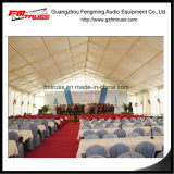 Pyramide-Hochzeits-Ereignis-Zelte mit Futter-Vorhang