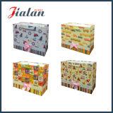 210g passen Firmenzeichen gedruckten preiswerten Papiergeschenk-Beutel an