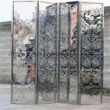 中国の工場からの中国様式3のパネル部屋ディバイダのステンレス鋼の折るスクリーン