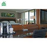 Insiemi di camera da letto cinque stelle di qualità superiore della mobilia dell'hotel, quercia delle merci di caso di ospitalità/legno della noce