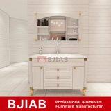 Настраиваемые желтого сандалового дерева Modern Home мебель алюминиевые водонепроницаемые ванной комнате