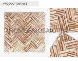 印刷の木製の穀物の報酬はBacksplashの卸し売りガラスモザイク・タイルをタイルを張る