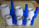 Novo design da Válvula de Esfera Plástica, fabricante da válvula de esfera de PVC fornecida